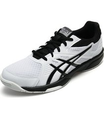 tenis blanco-negro asics upcort 3