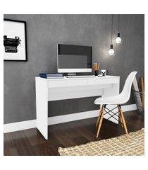 mesa escrivaninha movelbento 2 gavetas 75,5x120cm