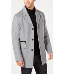 calvin klein men's wool overcoat