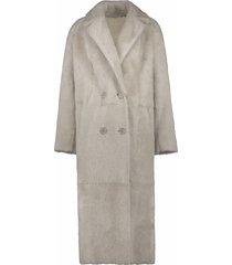 amore lammy coat light colour