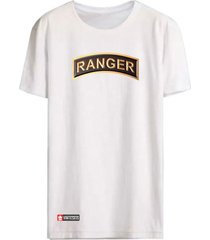 camiseta vinteseis army - ranger branca