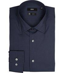 hugo boss overhemd jango donkerblauw sf 50421976/410