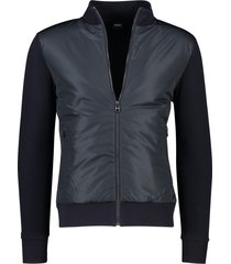 hugo boss jack kort model donkerblauw