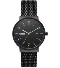 relógio skagen masculino ancher - skw6456/1pn skw6456/1pn