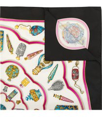 hermès 1990s pre-owned carre print scarf - multicolour