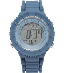 pack reloj  correa adicional blanco/azul gorillaz
