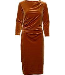 nisas dress jurk knielengte oranje inwear
