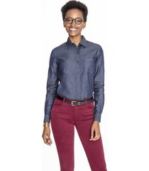 overhemd sols barry women denim