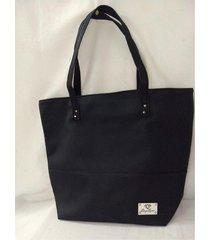 bolso  negro daysync bags classic