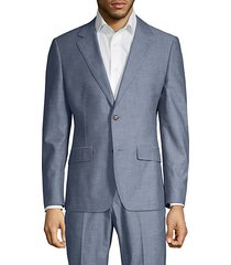 foundation slim-fit chambray jacket