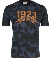 aeronautica militare t-shirt navy o-hals