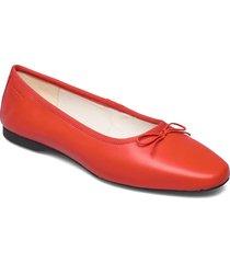 maddie ballerinaskor ballerinas röd vagabond