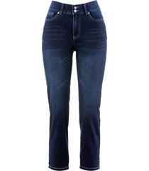 jeans elasticizzati push-up cropped straight (nero) - bpc bonprix collection