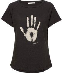 filina t-shirts & tops short-sleeved svart rabens sal r