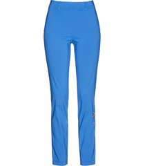 pantaloni con elastico in vita ricamati (blu) - bpc selection