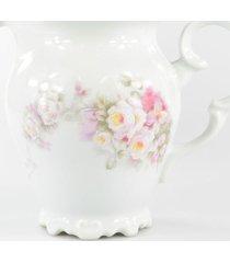 leiteira porcelana schmidt - dec. eterna