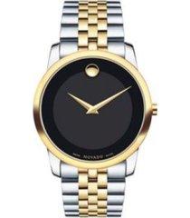 reloj  movado 606899 multicolor acero inoxidable