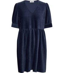 freya dress kort klänning blå modström