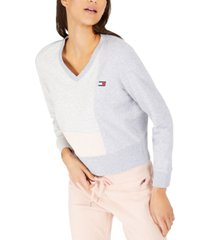 tommy hilfiger sport colorblocked sweatshirt