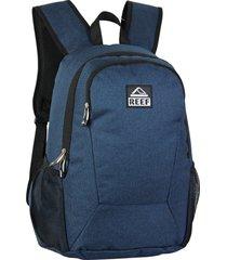 mochila azul reef 17.5 lisa