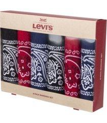levi's men's bandana headband gift sets - pack of 6