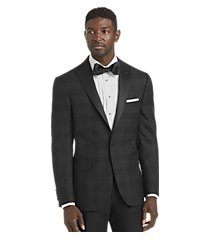 jos. a. bank tailored fit plaid dinner jacket - big & tall, by jos. a. bank