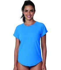 baby look active azul - 524.827 marcyn active camisetas fitness azul