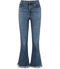 j brand julia high-rise bootcut jeans
