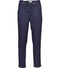 alex pant casual byxor vardsgsbyxor blå fram