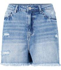 jeansshorts visara rosabell hw short denim shorts