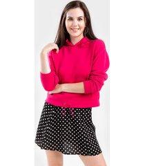 prestin active fleece hoodie - pink