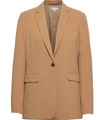 core suiting sb blazer blazers casual blazers beige tommy hilfiger