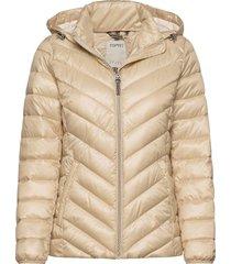 jackets outdoor woven fodrad jacka creme esprit casual