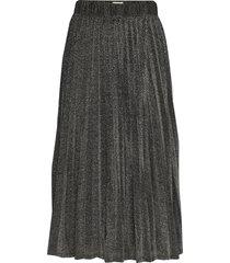 linnea skirt knälång kjol grå twist & tango