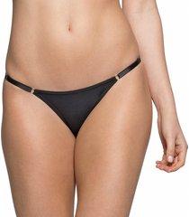 calcinha string com regulagem preto - 532.021 marcyn lingerie string preto