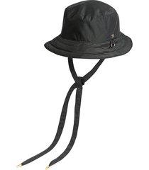 gucci gg reversible bucket hat - black