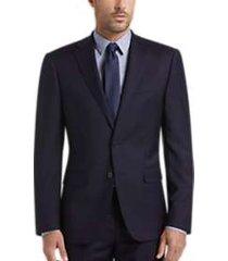 calvin klein navy slim fit suit