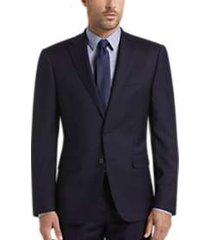 calvin klein x-fit navy slim fit suit
