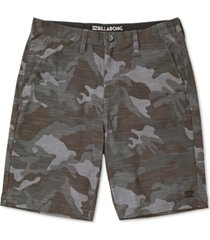 "billabong men's crossfire x 21"" shorts"
