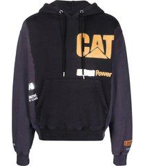 heron preston cat hoodie power