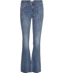 enzo jeans jeans wijde pijpen blauw minus