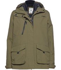 3-in-1 jkt w outerwear sport jackets grön craft