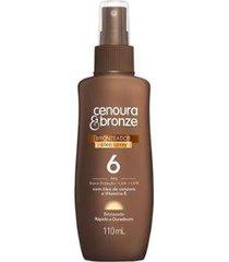 spray bronzeador cenoura bronze fps 6