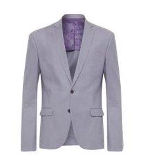 blazer masculino live - cinza
