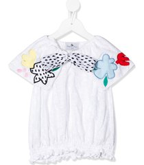 raspberry plum chikita embroidered blouse - white