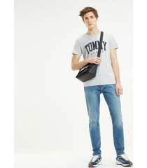 blue jeans modern tapered tommy jeans