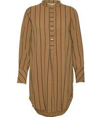 nubahira long shirt tunika brun nümph