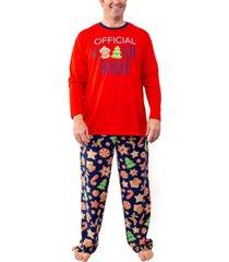 matching men's baking team pajama set, online only