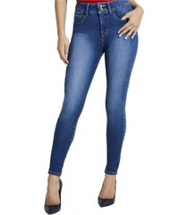 jeans shape up cswy azul guess