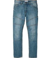jeans, normal passform, raka ben